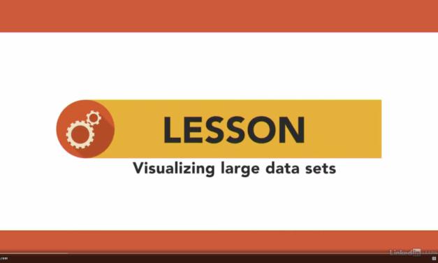 Visualizing Large Datasets